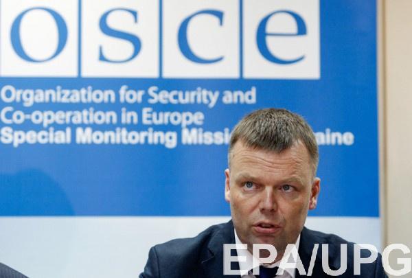 Хуг покидает пост замглавы миссии ОБСЕ в Украине