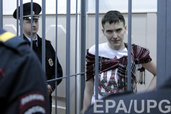 К Савченко не пустили врачей