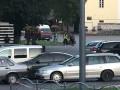 В Луцке три заложника вышли из автобуса