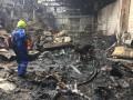 Под Киевом горело предприятие, есть жертвы