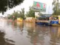 Непогода во Львове и Луцке