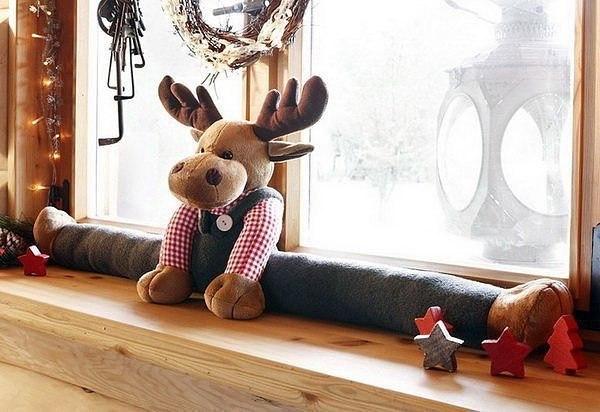 Креативные игрушки от сквозняков