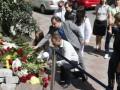 Украинцы почтили погибших в результате теракта в Ницце