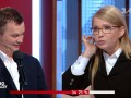 До драки не дошло: Тимошенко поссорилась с министром в прямом эфире