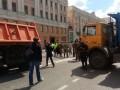 Место митинга Навального в Москве перекрыли спецтехникой