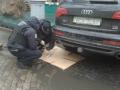 В центре Одессы в Audi священника полиция искала взрывчатку