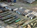 На Луганщине силовики обнаружили схрон с арсеналом оружия