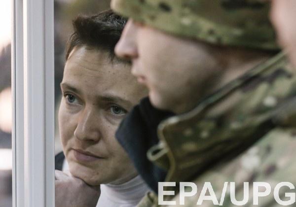 Савченко просит охрану для своих родных