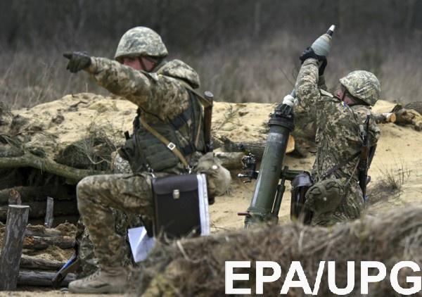 Вштабе АТО зафиксировали 4 провокационных обстрела состороны боевиков