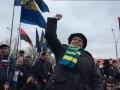Сторонники Савченко забросали йодом посольство РФ в Киеве