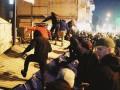 Нацкорпус разгромил застройку на Сенном рынке в Киеве