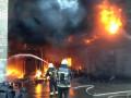 На заводе под Днепром вспыхнул масштабный пожар