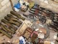 Стрельба в Харькове: На даче у киллера нашли огромный арсенал