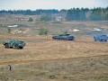 Украинские военные провели тактические учения с боевой стрельбой