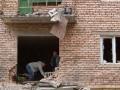Фото из Донецка: взрывы в районе Донбасс-Арены и химзавода