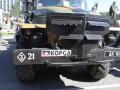 Сепаратисты в Горловке устроили выставку военной техники