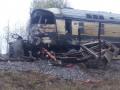 В Винницкой области поезд столкнулся с грузовиком, трое погибших