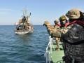 В Черном море пограничники задержали турецкие корабли