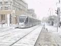 Иерусалим засыпало снегом