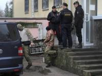 В России украинским морякам разрешили позвонить родным