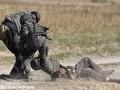 В Станично-Луганском районе боевик застрелил украинского военного