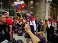 Сборную РФ на Олимпиаду в Рио провожала оплаченная массовка
