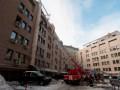 В центре Киева ликвидировали пожар в офисном помещении
