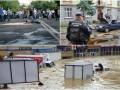 День в фото: страшный потоп в Сочи, очереди в Крыму и взрыв во Львове
