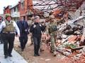 Глава МИД Литвы посетил руины Широкино на Донбассе