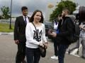 Прибытие Савченко: как встречали летчицу в аэропорту