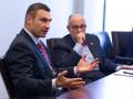 Виталий Кличко обсудил борьбу с коррупцией с экс-мэром Нью-Йорка