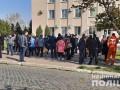 Полиция разогнала акцию предпринимателей на Одесчине