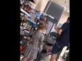 В Харькове маленькая девочка обложила матом супермаркет из-за воды