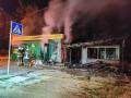 В горевших в Киеве торговых павильонах погибла женщина