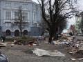 В Киеве на Андреевском спуске убрали МАФы