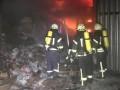 В Одессе горел склад со спиртом