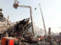 В Иране сгорел и рухнул торговый центр, погибли десятки пожарных