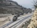 Турция массово перебрасывает войска к Сирии
