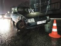 В Киеве пьяный пешеход спровоцировал массовое ДТП