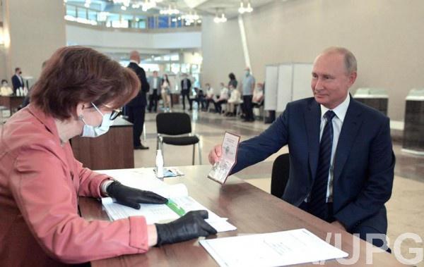 Путин проголосовал 1 июля
