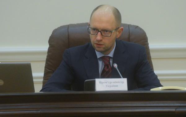 Яценюк: Мы убеждены, что Россия не прибегнет к военной интервенции на территории Украины