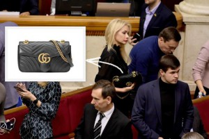 "В Раде ""засветилась"" нардеп с сумкой Gucci за 46 тысяч гривен"