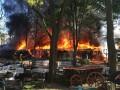 В Одессе возник масштабный пожар в кафе