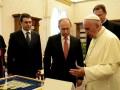 Путин получил от Папы медаль с изображением ангела-миротворца