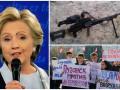 Итоги 10 октября: бракованные пулеметы для ВСУ, митинг в оккупированном Луганске и муха на лице Клинтон