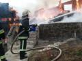 В Буковеле сгорел гостиничный комплекс
