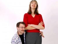 В Украине зарегистрировали пару с рекордной разницей в росте