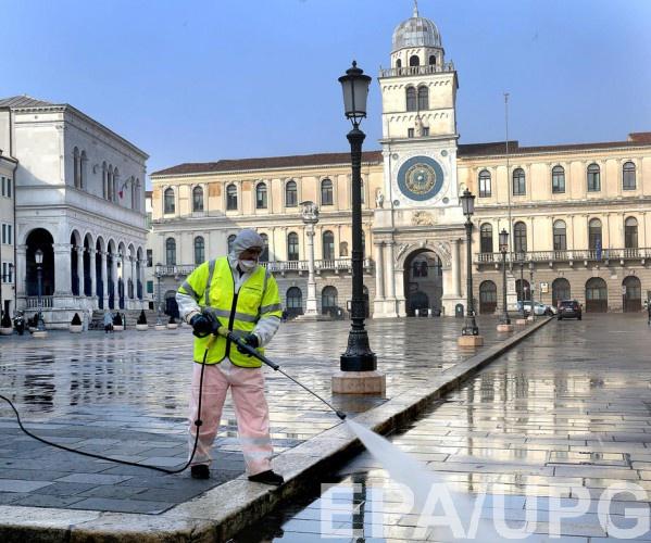 Украинцы не обращались в посольство Украины в Италии