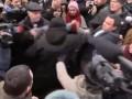 На главу Нацполиции Киевской области напали митингующие