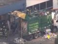 В США заключенный сбежал из тюрьмы и застрял в мусоре